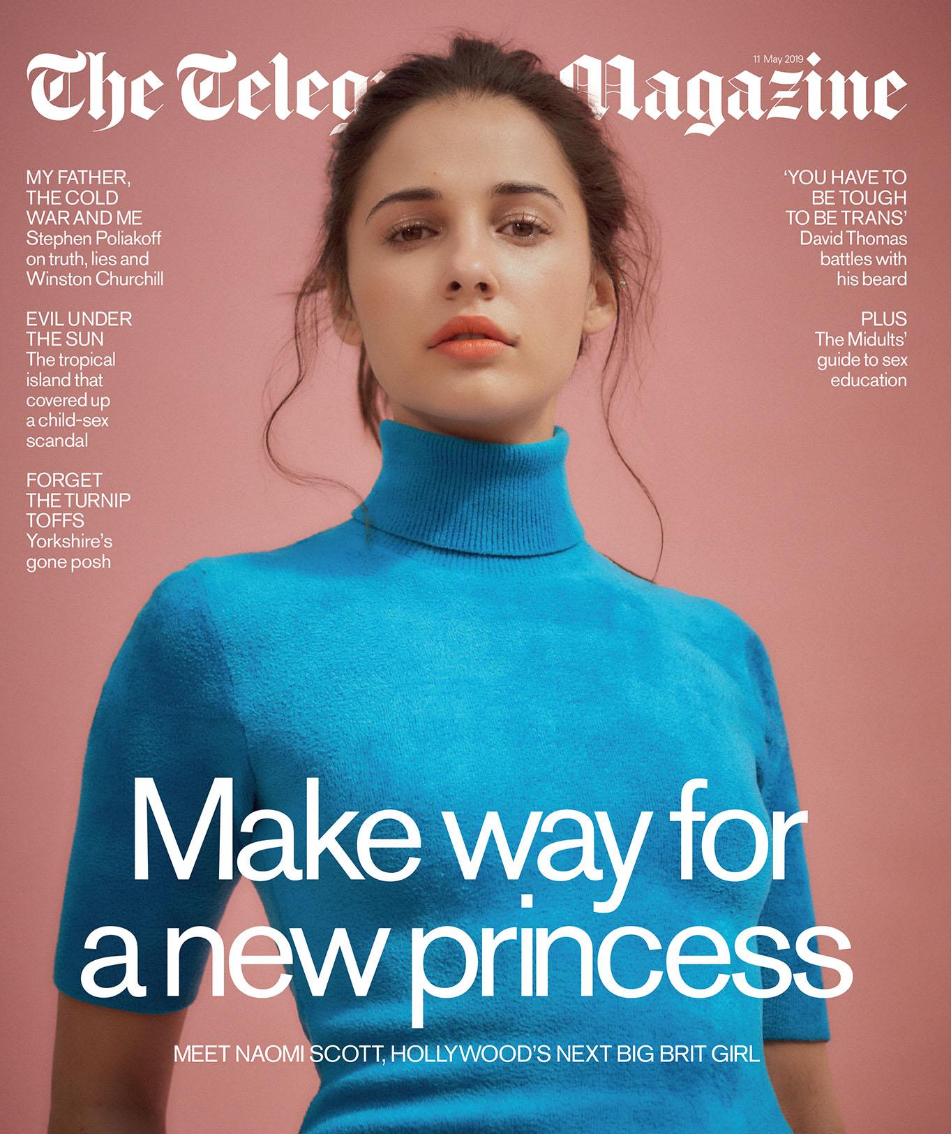 The Telegraph Magazine | Naomi Scott